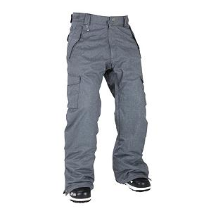 Snowboard 686 Mannual Infinity Insulated Mens Snowboard Pants - The 686 Mannual Infinity Insulated Snowboard Pants are a reliable, durable and comfortable pair of pants to have on the next time you ride on the mountain. Designed with fully taped seams and a 10,000mm waterproof rating the wintry weather will have a hard time penetrating the material. You'll have plenty of pockets all around to stash the necessities. If you're looking for a high-quality pair of snowboard pants that are perfect in temperatures of 10 to 32 degrees and will certainly keep you warm then the 686 Mannual Infinity Insulated Snowboard Pants are the ones you should reach for the next time you hit the park. . Exterior Material: 100% Poly Mini Herringbone Denim, Insulation Weight: 20 Grams, Taped Seams: Fully Taped, Waterproof Rating: 10,000mm, Breathability Rating: 8,000g, Full Zip Sides: No, Thigh Zip Venting: Yes, Suspenders: None, Articulated Knee: No, Warranty: One Year, Race: No, Waterproof: Moderately Waterproof (5000mm-19,999mm), Breathability: Moderate Breathability (4000g-8999g), Type: Insulated, Cut: Regular, Lining Material: 100% Nylon Taffeta, Waist: Beltloops, Model Year: 2012, GTIN: 0883510155428, Pockets: 5-6, Use: Snowboard, Cargo Pockets: Yes, Softshell: No, Model Number: L1W205A GUN XS, Product ID: 266151 - $59.88