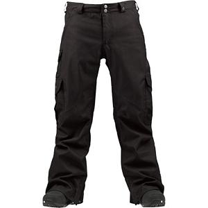 Snowboard Burton Cargo Long Mens Snowboard Pants - The Burton Cargo Long Snowboard Pants is a longer-legged version of the classic go-to pant that has all you need to stay comfortable and allow you to ride with all the necessities. It's all quite possibly the best-selling pants in Burton history. These snowboard pants are loose-fitting but not too baggy so you can layer up when the temperatures hover around that zero degree mark. You'll have a DRYRIDE Durashell 2L Fabric which has technical weather proofing and breathable properties to help combat the cold and snow without making you feel bunched up. There is both a Mapped with Mesh Lining and Taffeta Lining to help wick moisture away and allow for breathability to keep you feeling comfortable. If you find that you are heating up you can always utilize the Test-I-Cool Zipper with Crossflow Venting which will bring in some fresh air and keep you feeling fresh. There is abrasion resistant Anti-Scuff Cuffs for greater durability. If you want plenty of pockets at your disposal and you're a taller guy who needs longer legs on their pants then take hold of these classy Cargo Long Snowboard Pants. Features: Glove Loop. Exterior Material: DRYRIDE Duracell 2-Layer Fabric, Softshell: No, Insulation Weight: 40 Grams, Taped Seams: Fully Taped, Waterproof Rating: 10,000mm, Breathability Rating: 10,000g, Full Zip Sides: No, Thigh Zip Venting: Yes, Suspenders: None, Articulated Knee: Yes, Cargo Pockets: Yes, Warranty: One Year, Race: No, Waterproof: Mild Waterproofing (5,001 - 10,000mm), Breathability: Mild Breathability (5,001 - 10,000g), Use: Snowboard, Type: Shell, Pant Fit: Regular, Lining Material: Taffeta, Waist: Beltloops, Pockets: 5-6, Model Year: 2013, Product ID: 289117, Shipping Restriction: This item is not available for shipment outside of the United States., Model Number: 276488-002S, GTIN: 0886057846972 - $99.93