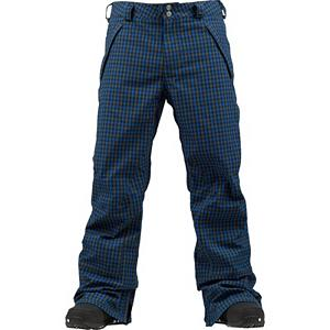 Snowboard Burton Vent Mens Snowboard Pants - Put on a pair of the Burton Vent Snowboard Pants and you'll stay warm and dry during your all-mountain shenanigans. Made with a waterproof and breathable DRYRIDE Durashell 2-Layer Fabric, you'll have the wintry precipitation being stopped before seeping into the pants. A Taffeta Lining helps wick away some of the moisture so as you work up a sweat you won't have to worry about being cold. If you are overheating you can utilize the Test-I-Cool Zipper with Crossflow Venting to help cool you down and leave you feeling dry and fresh. To ensure the integrity of the pants and to help keep them going season-after-season you'll have Anti-Scuff Cuffs with reinforced oxford fabric. Durable, versatile and sharp-looking, the Burton Vent Snowboard Pants are perfect for shredding the mountain or building snowmen in the yard. . Exterior Material: DRYRIDE Duracell 2-Layer Fabric, Softshell: No, Insulation Weight: N/A, Taped Seams: Fully Taped, Waterproof Rating: 15,000mm, Breathability Rating: 10,000g, Full Zip Sides: No, Thigh Zip Venting: Yes, Suspenders: None, Articulated Knee: Yes, Cargo Pockets: Yes, Warranty: One Year, Race: No, Waterproof: Moderately Waterproof (5000mm-19,999mm), Breathability: High Breathability (9000g-15,000g), Use: Snowboard, Type: Shell, Cut: Regular, Lining Material: Taffeta, Waist: Beltloops, Pockets: 5-6, Model Year: 2013, Product ID: 289162, Shipping Restriction: This item is not available for shipment outside of the United States., Model Number: 276499-427S, GTIN: 0886057866482 - $137.93
