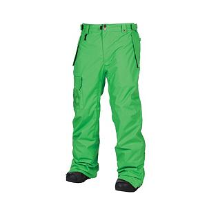 Snowboard 686 Mannual Data Mens Snowboard Pants - This pair of 686 Mannual Data Mens Snowboard Pants is an awesome shell with a thermal rating of 4 that has been designed with a mesh and brushed tricot liner to provide normal riding protection in 20 to 40 degree temperatures. The Infidry coating will provide warmth keep you toasty on the inside and protection from moisture on the outside. The baggie fit and the simple style looks great on many different body types with comfort and durability in all of the right places. The waterproof protection and breathability will make this pair of Data pants the right choice for you. Other features include the Air-Flo vents with Smooth-Operator mesh gussets, the horseshoe-hem curved leg opening and the leg gaiter with boot hook and sock guard flap for additional protection from snow and moisture entering. This high quality jacket is highly functional in all types of weather conditions and is ideal for layering and multi-season use. Features: Size adjustable waist band tabs, Hand-warmer front hip pockets, Waist band swivel clip attachment, Peached tricot inner waist band and fly, Right thigh cargo pocket, Back pocket. Exterior Material: Nylon oxford, Insulation Weight: Non, a shell, Taped Seams: Critically Taped, Waterproof Rating: 8,000mm, Breathability Rating: 5,000g, Full Zip Sides: No, Thigh Zip Venting: Yes, Suspenders: None, Bearing Grade: Performance, Articulated Knee: Yes, Warranty: One Year, Race: No, Waterproof: Moderately Waterproof (5000mm-19,999mm), Breathability: Moderate Breathability (4000g-8999g), Type: Shell, Cut: Regular, Lining Material: Peached tricot, poly blend, Waist: Beltloops, Model Year: 2013, Product ID: 292265, Model Number: L2W207 GRAS S, GTIN: 0883510194489, Use: Snowboard, Cargo Pockets: Yes, Softshell: No - $79.99