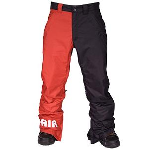 Snowboard Air Blaster Freedom Boot Pant Mens Snowboard Pants - It is always nice when your have extra money on the hill, maybe your buying next pitcher or its time to hit up the cafeteria. Regardless of how you spend your money Airblaster wanted to make sure you still have some money left over after buying the Freedom Boot Pant. Featuring 10K breathability and 10G of breathability this pant is great for any weather condition that mother nature has to throw at you. Zipper on the lower portion of the leg allows you to keep whatever you heart decides. Leg vents regulate breathability since your throwing down so fresh tracks on the mountain. The Freedom Boot Pant is a full functioning machine and is ready to make your day better. . Full Zip Sides: No, Suspenders: None, Articulated Knee: No, Warranty: One Year, Waist: Beltloops, Model Year: 2013, Product ID: 293041, Pockets: 3-4, Lining Material: N/A, Cut: Regular, Type: Shell, Use: Snowboard, Breathability: High Breathability (9000g-15,000g), Waterproof: Moderately Waterproof (5000mm-19,999mm), Race: No, Cargo Pockets: No, Thigh Zip Venting: Yes, Breathability Rating: 10,000g, Waterproof Rating: 10,000mm, Taped Seams: Critically Taped, Insulation Weight: None, Softshell: No, Exterior Material: Critically seam sealed - $89.95