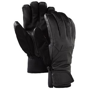Snowboard Burton Gondy Leather Gloves - The Burton Gondy Leather Snowboard Gloves will block out the cold and snow so that your hands will remain warm and comfortable all day on the mountain. You'll have a GORE-TEX Glove Membrane which is durable, waterproof and breathable. What this all means is that you'll have dry and comfortable hands under a tough exterior. Thermacore Insulation traps the heat in the gloves so they are warm without limiting your movement. On top of that, the insulation is breathable so you won't be stuck with overly sweaty and chilly hands. A TouchTec Enabled Palm ensures that you can still check out texts, emails and scroll through websites without removing the gloves. Update your status or switch to the next song without cold fingers. With its Pistol Grip Pre-Curved Fit you'll have your hands nestled into a high-performance and versatile pair of Burton Gondy Leather Snowboard Gloves. . Removable Liner: No, Material: Gnar Guard Leather Shell and Palm, Warranty: One Year, Battery Heated: No, Race: No, Type: Glove, Use: Ski/Snowboard, Wristguards: No, Outer Material: Leather, Waterproof: Yes, Breathable: Yes, Pipe Glove: No, Cuff Style: Under the cuff, Down Filled: No, Model Year: 2013, Product ID: 288672, Shipping Restriction: This item is not available for shipment outside of the United States. - $75.95