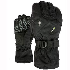 Snowboard Level Star Plus Gloves - The Level Star Plus Glove is the perfect glove for any snowboarder on any mountain. Keeping your hands warm is the Membra-Therm Plus membrane which is a water resistant fabric that optimizes warmth and comfort by keeping your hands dry. Thermo-plus 3000 technology certifies the Star Plus Glove in temperature up to -15 degrees. The removable liner inside the glove can be worn by itself on your warmer slushy days. The Level Star Plus Glove is the perfect glove for any rider that wants warmth, without the need for hand warmers. . Removable Liner: Yes, Warranty: One Year, Battery Heated: No, Wristguards: No, Waterproof: No, Breathable: Yes, Cuff Style: Over the cuff, Touch Screen Capable: No, Model Year: 2013, Product ID: 290941, Down Filled: No, Pipe Glove: No, Outer Material: Nylon, Use: Ski/Snowboard, Type: Glove, Race: No, Material: Thermo-Plus - $59.91