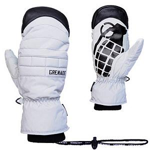 Snowboard Grenade Exploiter Mittens - Time to take your sled to vast unknown of the backcountry and what is better then a mitten that is going to keep your hands warm and dry as you search for that perfect spot. The Grenade Exploiter Mitt is a classic looking mitten, with extraordinary features. With the Grenade Exploiter Mens Snowboard Mitten you'll have the strength of a leather palm not only keeping your digits warm but also fighting off the wintry elements and ensuring they remain on the outside of the mitten. A sewn-in fleece liner provides the softness and warmth you want when those temperatures drop. The Exploiter Mens Snowboard Mittens have it all for superior warmth and durability. . Warranty: One Year, Battery Heated: No, Wristguards: No, Touch Screen Capable: No, Model Year: 2013, Product ID: 291994, Model Number: GGMW3-220201, GTIN: 0854850127697, Down Filled: No, Cuff Style: Under the cuff, Pipe Glove: No, Breathable: Yes, Waterproof: Yes, Outer Material: Nylon, Use: Ski/Snowboard, Type: Mitten, Race: No, Material: Primaloft insulation, Removable Liner: No - $69.95