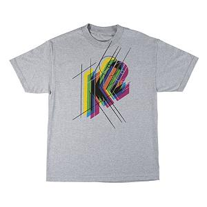 Snowboard K2 CMYK SS T-Shirt - The CMYK Tee from K2 has a rainbow of style that will have you stylin in this super soft cotton tee from K2. . Material: Natural Fibers, Battery Heated: No, Type: Tees, Weatherproof: No, Material: Cotton, Model Year: 2013, Product ID: 274498, Shipping Restriction: This item is not available for shipment outside of the United States. - $21.95