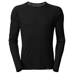 Snowboard The North Face Light L/S Crew Neck Mens Long Underwear Top - Providing light thermal insulation and superb moisture management, The North Face Light Long Sleeve Crew Neck Top is a vital baselayer element. Ideal for outdoor activities that require only moderate insulation, the technical baselayer incorporates advanced fiber technolgy fabric structure for superb wicking performance that helps evacuate sweat from the skin quickly. Adventure lovers will also appreciate the easy-care, quick-drying, hypoallergenic, and stain and odor-resistant properties of the garment, all teaming up to deliver long-lasting and reliable performance. Flatlocked seams throughout mean reducing chafing The Light Long Sleeve Crew Neck top makes an outstanding first layer when paired with other high-performance garments from North Face. Features: Odor resistant. Fit: Tight, Warranty: Lifetime, Material: Synthetic, Weight: Light, Type: Top, Neck: Crew, Model Year: 2013, Product ID: 268299, Shipping Restriction: This item is not available for shipment outside of the United States. - $45.00
