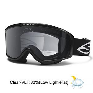 Snowboard Smith Monashee OTG Goggles 2013 - The Smith Monashee Over the Glasses goggles feature streamlined styling for a completely unobstructed view. The large lens chamber fits over most eyeglasses. The Monashee has exceptional fog prevention, comfort and fit for eyeglass users. A floating membrane helps to eliminates eyeglass temple pressure and a Carbonic-X lens offers clarity and scratch resistance. . Race: No, Category: Adult, OTG: Yes, Comes w/ Case: No, Fog Fan: No, Frame Size: Large, Spherical Lens: No, Polarized: No, Photochromatic: No, Rubberized Strap: No, Helmet Compatible: Yes, Frame Size: Large, Lens Shape: Flat, Lens Coating: n/a, Has Fan: No, Model Year: 2013, Product ID: 197275, Headphones Included: No - $50.00