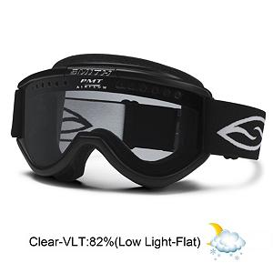 Snowboard Smith Cariboo OTG Goggles - The Smith Cariboo Over the Glasses goggles refined classic teardrop shape fits large sized faces and is designed to eliminate goggle gap while still allowing enough room for eyeglasses behind the lens. This comfortable fitting goggle uses active ventilation to keep your view fog free when the weather and speeds change. Consistent natural airflow allows the goggle lens to adapt itself to your performance. Features: Compression Molded, Hypoallergenic Face Foam. Race: No, Category: Adult, OTG: Yes, Comes w/ Case: No, Fog Fan: No, Frame Size: Large, Spherical Lens: No, Polarized: No, Photochromatic: No, Rubberized Strap: No, Helmet Compatible: Yes, Frame Size: Large, Lens Shape: Flat, Lens Coating: n/a, Has Fan: No, Model Year: 2013, Product ID: 197278, Headphones Included: No - $45.00