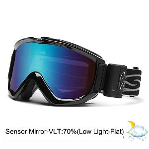 Snowboard Smith Knowledge Turbo Fan OTG Goggles 2014 - The Smith Knowledge OTG Turbo Fan goggles feature exceptional fog-prevention, comfort, and fit for eyeglass users. The Knowledge OTG is an awesome all around goggle. With lens ventilation and floating foam membrane eliminates eyeglass pressure. These goggles are helmet and eyeglass compatible, so if you have ever had a problem fitting your glasses under goggles, these are for you. Smart features like the Carbonic-x lens with anti-fog let you see your way through the steep and deep. While a centering V nose shape and an articulating outrigger positioning system keep these hot looking specs in place. The large interior accommodates a variety of eyeglass sizes. The Smith Knowledge OTG Turbo Fan goggles have the best fog prevention system available for eyeglass users. Features: ODS2 and Eyeglass Compatible, Two-Speed, Micro-Electronic Fan, Carbonic-X Lens with TLT Optics, 5X Anti-Fog Inner Lens, Floating Foam Membrane Eliminates Eyeglass Temple Pressure. Race: No, Category: Adult, OTG: Yes, Special Feature: Anti-Fog Fan, Frame Size: Large, Spherical Lens: No, Polarized: No, Photochromatic: No, Rubberized Strap: Yes, Helmet Compatible: Yes, Frame Size: Large, Product ID: 279284, Model Year: 2014, Lens Type: Mirrored, Lens Shape: Flat, Comes w/ Case: No - $160.00