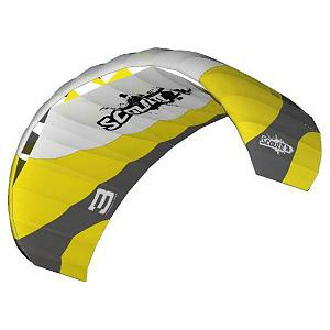 Snowboard HQ Kites Scout II Power Kite - Looking for a new adventure? How about snowkiting? Let the wind take you across the mountain as you hold on to the HQ Scout II Snowkite. This Snowkite package is high quality and affordable. It has a traction foil that is always reliable whether you're on snow or land. There's an Adjustable Bridle and a Third Line Flagout System for changing wind conditions and excellent stability. Equipped with an EasyLine System, you'll have the capabilities for a quick launch and simple setups. Perfect for the beginner snowkiter and kiteschools, as a skier you'll love the ways you can now explore the fine sport of skiing. With amazing flight performance, the sky's the limit with an HQ Scout II Snowkite Package! Features: Adjustable Power Control, Includes: Backpack, Control Bar with Safety Leash, Colored Line Set, Ground Stake for securing kite on ground, and a Multilingual Instruction Manual. Model Year: 2011, Product ID: 216558, Shipping Exclusion: This item is only available for shipment by UPS to the lower 48 United States. APO, FPO, PO BOX, Hawaii, and Alaska shipments may not be possible for this item. (Please call prior to purchase.), Special Order: This is a Special Order item, will be shipped from the manufacturer, and is not stocked in our warehouse. This item does not qualify for our Price Matching Policy. Order processing time may vary., Model Number: 117502 - $370.49