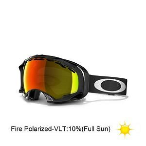 Snowboard Oakley Splice Polarized Goggles 2014 - Forget what you think you know about goggles. Oakley has completely changed the name of the game with the polarized Splice. These could very well be the most comfortable goggles ever created for winter sports. They have done a lot of anatomical engineering with the end result being a unique architecture which reduces pressure on the entire nasal area by tuning the distribution of contact forces to greatly enhance airflow. The skeletal support system works with the lightweight O Matter frame that will retain its flexibility even in extreme cold. And to further reduce pressure and augment comfort the frame is surrounded by a thick triple layer of fleece face foam with moisture wicking properties and strap outriggers that keeps everything evenly balanced with or without a helmet. The dual vented pure Plutonite lens material provides unsurpassed impact protection and the HD Polarized technology offers reduced glare with minimal distortion and haze for improved depth perception. They have also been treated with a specially formulated F3 Anti-fog coating and offer 100% UV protection from all harmful rays. Oakley has raised the bar on what you have come to expect from high performance precision eyewear with the Splice Polarized goggles. Features: Patented Polarization Process Achieves Highest Possible Level of Performance. Race: No, Category: Adult, OTG: No, Comes w/ Case: No, Special Feature: No, Frame Size: Large, Spherical Lens: Yes, Polarized: Yes, Photochromatic: No, Rubberized Strap: Yes, Helmet Compatible: Yes, Frame Size: Medium, Lens Shape: Spherical, Lens Type: Polarized, Model Year: 2014, Product ID: 198600, Model Number: 57-281, GTIN: 0700285417240 - $179.92