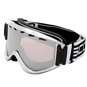 Snowboard Scott Strike Goggles - The Scott Strike is a great value goggle, that can fit a wide variety of faces. 100% UV protection will keep your eyes safe and glare free while you rip down the mountain. The cylindrical tru-view lens technology will reduce distortion, while the molded hypoallergenic super soft face foam keeps the warmth in, and the fit sealed to your face. The adjustable strap is helmet compatible so you don't have to worry the Strike will fit correctly with your brain bucket. The Scott Strike is a great goggle with out the steep price tag. . Race: No, Category: Adult, OTG: No, Comes w/ Case: No, Fog Fan: No, Frame Size: Large, Spherical Lens: No, Polarized: No, Photochromatic: No, Rubberized Strap: No, Helmet Compatible: Yes, Frame Size: Fits Most Faces, Lens Shape: Flat, Lens Coating: n/a, Has Fan: No, Model Year: 2011, Product ID: 225347, Headphones Included: No - $49.95