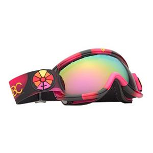 Snowboard Electric EG.5s B4BC Womens Goggles - Form fitting and functional like an astronaut's space suit, the Electric EG.5s goggles are built for smaller faces with big plans. So you may ask what it has to offer in such a compact package. A lot. Featuring an ergonomic, mold injected thermo-plastic urethane frame and a dual cylindrical polycarbonate lens, the EG.5s doesn't stray too far from other EG goggles. You get the same cold-weather flexibility and anti-fog protection with an additional anti-scratch hard coating that any daredevil can appreciate. The dual lenses offer a thermal barrier against the elements that keep your face dry, warm and well protected. The triple density face foam lined in a cozy fleece hugs your contours and with a little adjustment to the strap, the goggle will fit snugly even while wearing a helmet! Peepers are shielded against harmful UVA/UVB rays with the 100% protection Electric lenses offer which will also help reduce eye fatigue from harsh, continuous sunlight. Proceeds of the sale go to the Boarding for Breast Cancer group. Features: Anti-Fog and Anti-Scratch Hard Coating, Contoured Triple Layer Face Foam, 40mm Strap with Adjuster, Microfiber Goggle Bag included. Race: No, Category: Womens, OTG: No, Comes w/ Case: No, Fog Fan: No, Frame Size: Small, Spherical Lens: Yes, Polarized: No, Photochromatic: No, Rubberized Strap: No, Helmet Compatible: Yes, Frame Size: Small, Frame Size: Medium, Lens Shape: Spherical, Lens Coating: n/a, Has Fan: No, Model Year: 2012, Product ID: 239996, Headphones Included: No - $79.95