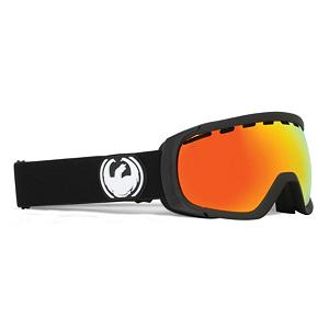 Snowboard Dragon Rogue Goggles - Freshen up your look with the Dragon Rogue Goggle! An optically correct lens fitted inside a flexible polyurethane frame makes up the basics of the Rogue but there is nothing ho-hum about it. The optically correct lens is designed to match the natural curvature of the eye and provides an undistorted view of the slopes. The frame remains flexible in all weather conditions and is armed with adjustable hinges on the straps so you can wear it with or without a helmet comfortably. Lining the frame is a super-cushy triple layer face foam with a micro fleece lining that wicks moisture, giving you an irritation-free wear and a fit that feels like slipping on a glove. Giving you the top-notch in protection is a UV shield, guarding 100% of all harmful UV rays and a Super Anti-Fog coating. Keeping the lens free and clear, the Super Anti-Fog (the same anti-fog chemicals used by NASA) is the strongest anti-fog known to man and is often used on the windshields of spacecrafts and astronauts visors. With fun themes and an impressive design, there is no doubt why the Rogue is a fan favorite for the slopes. In any condition, the Rogue is going to make your mountain experience easily visible, comfortable and long-lasting. Features: Super Anti-Fog Lens, Polyurethane Frame. Race: No, Category: Adult, OTG: No, Comes w/ Case: No, Special Feature: No, Frame Size: Medium, Spherical Lens: Yes, Polarized: No, Photochromatic: No, Rubberized Strap: No, Helmet Compatible: Yes, Frame Size: Medium, Lens Shape: Spherical, Lens Type: Mirrored, Model Year: 2012, Product ID: 242212 - $59.88
