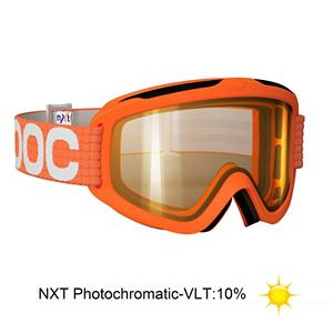 Snowboard POC Iris X NXT Medium Goggles - The Iris X Medium Photochromatic goggle is simple performance in a quality goggle. Using a polycarbonate dual lens the Iris X offers great Field of vision and quality eye protection. With great venting and comfortable face foam the Iris X is design to never steam up even with major changes in air humidity and temperature. Also, the lens is treated with anti-fog and anti-scratch applications for keep the Iris X in mint condition longer. This being photochromatic POC is using a NXT lens, the NXT Polymer for its lens. This material allows for the Iris X NXT to be photochromatic, automatically adjusting to darker or lighter conditions, eliminating the negative affect of flat light conditions. Voil, all the normal sight issues solved, and of top of that the NXT lens gets a oleophobic and hydrophobic treatment to repel oils and water, so no more finger prints on your lens and snow slide right off after a face shot. If goggle management has always kept you guessing the Iris X NXT is the one pair of goggles that will always be the right pair . Race: No, Category: Adult, OTG: No, Comes w/ Case: No, Special Feature: No, Frame Size: Medium, Spherical Lens: No, Polarized: No, Photochromatic: Yes, Rubberized Strap: Yes, Helmet Compatible: Yes, Spare Lens Included: No, Goggle Ventilation: Medium, Goggle Lens Change: Moderate, Frame Size: Medium, Lens Shape: Flat, Lens Type: Photochromatic, Model Year: 2014, Product ID: 243846, Model Number: 40029 03 M, GTIN: 7332522223180 - $99.94