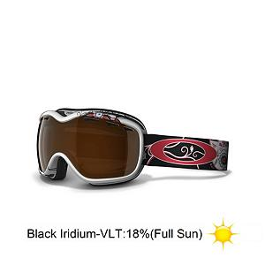 Snowboard Oakley Stockholm Caia Koopman Womens Goggles - Oakley offers a uniquely feminine shaped goggle for the ladies that want to stand out on the slopes. The Caia Koopman Pro Series Stockholm was engineered with 3D cranial geometry to provide a perfect made-for-you fit. The frame is constructed from flexible urethane to remain supple in extreme cold but maintains a continuous seal and wicks away moisture with a comfortable thick triple-layer of polar fleece foam. Whereas the lenses provide a maximized field of view they also filter out 100% of harmful UV light for exceptional clarity at all angles of vision via the patented Xyz Optics. And to relatively eliminate fog buildup they have been chemically coated with the permanent F3 Anti-fog treatments. The Stockholm Signature Series offers the utmost in protection and optical performance but guarantees a soft, comfortable fit for all day wear. Features: Fog elimination of dual vented lenses with F3 anti-fog technology, 100% UV Protection, Impact resistance that meets ANSI Z87.1 standards. Race: No, Category: Womens, OTG: No, Comes w/ Case: No, Special Feature: No, Frame Size: Small, Spherical Lens: Yes, Polarized: No, Photochromatic: No, Rubberized Strap: Yes, Helmet Compatible: Yes, Frame Size: Small, Lens Shape: Spherical, Lens Type: Mirrored, Model Year: 2013, Product ID: 247756 - $89.95