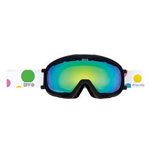 Snowboard Spy Bias Les Ettes Womens Goggles - The Spy Snow Goggle Product Team has been lurking in your favorite terrain park, back country bowls, dark alleys and midnight stomping grounds for one reason alone - they have been taking notes and they're here to bring the style and with an updated line that will transform you. The Spy Bias Snow Goggle gives you clean design and superior optical performance. ARC Spherical lenses have a consistent vertical and horizontal curve in the lens maximizing multiple fields of view. The lenses are also de-centered (thicker in the middle and tapering towards the edges) eliminating distortion and allowing true clarity. This Spy Bias Snow Goggle provides you with the Scoop system which forces air through strategically placed vents of varying aperture on the goggle frame to shut down fog. Your vision will thank you. The sleek, low profile Spy Bias Snow Goggle is specifically designed for smaller faces with a reduced frame size and additional elegant design details making this a standout piece on the hill - you are good to go. Features: Dual adjustment, silicone-ribbed strap with quick release buckle, 100% UV Protection. Race: No, Category: Womens, OTG: No, Comes w/ Case: No, Has Fan: No, Frame Size: Small, Spherical Lens: Yes, Polarized: No, Photochromatic: No, Rubberized Strap: No, Helmet Compatible: Yes, Frame Size: Small, Frame Size: Medium, Lens Shape: Spherical, Lens Type: Mirrored, Model Year: 2012, Product ID: 248199 - $64.95
