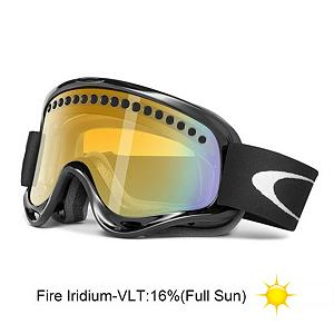 Snowboard Oakley O Frame and Extra Lens Goggles - The O Frame from Oakley will provide wide open clarity with a pure approach to style. The lightweight O Matter chassis maintains its supple feel even in extreme cold which allows it to conform to your face, while the thick triple-layer of polar fleece foam wicks away unwanted moisture and the extra wide adjustable strap provides a secure, comfortable fit. The dual vented lenses have been treated with the F2 Anti-Fog technology to offer a clear line of sight under a variety of conditions with precise definition. They also provide durable impact protection and scratch resistance while filtering out 100% of all UVA, UVB, UVC and harmful blue light. Plus the interior surface has been textured to reduce glare for more precise definition. All of this makes the O Frame the right choice for all of your winter time activities. . Race: No, Category: Adult, OTG: No, Comes w/ Case: No, Special Feature: No, Frame Size: Medium, Spherical Lens: No, Polarized: No, Photochromatic: No, Rubberized Strap: Yes, Helmet Compatible: Yes, Spare Lens Included: Yes, Frame Size: Medium, Lens Shape: Flat, Lens Type: Non-Mirrored, Model Year: 2013, Product ID: 279830 - $49.88
