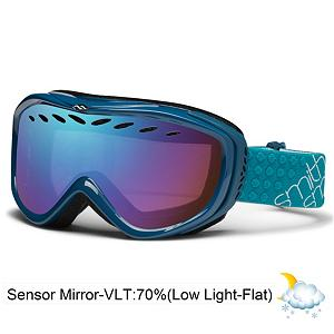 Snowboard Smith Transit Womens Goggles 2013 - Delicate lines and a sleek silhouette create the beautifully styled Transit and with a wide range of colors there is a style for everyone. A small fit makes the Transit Pro the go to goggle for affordability, style, and a universal fit. The articulating outrigger positioning makes the Transit helmet compatible while compression molded face foam and QuickFit Strap Adjustment make for a comfortable and snug fit to help with anti-fog. Dual lenses provide great protection and create a thermal barrier for airflow management to prevent fogging. Whether you want to run under the radar or make sure everyone notices you the Transit goggles from Smith get the job done. Features: Compression-Molded, Hypoallergenic Face Foam. Race: No, Category: Womens, OTG: No, Comes w/ Case: No, Has Fan: No, Frame Size: Small, Spherical Lens: No, Polarized: No, Photochromatic: No, Rubberized Strap: Yes, Helmet Compatible: Yes, Frame Size: Small, Lens Shape: Flat, Lens Type: Mirrored, Model Year: 2013, Product ID: 280150 - $49.95