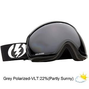 Snowboard Electric EG2 Polarized Goggles - EG2 Polarized goggle is the first goggle that gives you more of what you need; SIGHT. Less frame and an oversized lens allows you superior peripheral vision. Polarized lens offers unbeatable clarity for a fine tuned calibration of light transmission that increases depth perception. The EG2s ergonomic frame design is the perfect fit for a medium to large face, offering 100% UV Protection. The Oversized dual spherical lens has both a Super Anti-Fog and Anti-Scratch Coatings. All EG2 models are helmet compatible and have a microfiber bag to keep then clean and scratch free. With frames and lenses in cool, stylish colors and plenty to choose from the EG2 is a step forward that will change the way you see the mountains, literally. The EG2 is your widescreen HDTV for the mountains, no remote needed. . Race: No, Category: Adult, OTG: No, Comes w/ Case: Yes, Has Fan: No, Frame Size: Large, Spherical Lens: Yes, Polarized: Yes, Photochromatic: No, Rubberized Strap: No, Helmet Compatible: Yes, Product ID: 282942, Model Year: 2013, Lens Type: Polarized, Lens Shape: Spherical, Frame Size: Large, Frame Size: Medium - $119.95