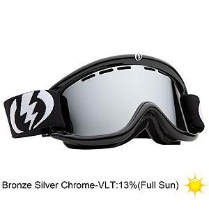 Snowboard Electric EG.5 Goggles - The EG.5 Goggles from Electric were developed and contoured for smaller faces while maintaining the simplistic yet functional design. Featuring an ergonomic, mold injected thermo-plastic urethane frame and a dual cylindrical polycarbonate lens, the EG.5 doesn't stray too far from other EG goggles. You get the same cold-weather flexibility and anti-fog protection with an additional anti-scratch hard coating that any daredevil can appreciate. The dual lenses offer a thermal barrier against the elements that keep your face dry, warm and well protected. The triple density face foam lined in a cozy fleece hugs your contours and with a little adjustment to the strap, the goggle will fit snugly even while wearing a helmet! Peepers are shielded against harmful UVA/UVB rays with the 100% protection Electric lenses offer which will also help reduce eye fatigue from harsh, continuous sunlight. Features: Contoured Triple Layer Face Foam, Articulating Strap For Helmet Compatibility. Race: No, Category: Adult, OTG: No, Special Feature: No, Spherical Lens: No, Helmet Compatible: Yes, Spare Lens Included: Yes, Frame Size: Small, Lens Shape: Flat, Lens Type: Mirrored, Model Year: 2013, Product ID: 283224, Rubberized Strap: No, Photochromatic: No, Polarized: No, Frame Size: Small, Comes w/ Case: No - $44.88
