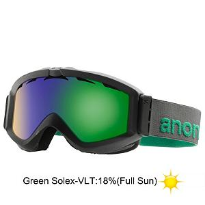 Snowboard Anon Figment Goggles - With unmatched style and the best impact protection available, the Anon Figment is the leader of style and performance. The Figment will enhance optical clarity and provides 100% UV/UVB protection. Constructed with the highest quality thermoplastic polyurethane, Anon goggles have the highest resistance to abrasion and maintain consistent flexibility in changing temperatures. The Figment features dual layer, hypo-allergenic face foam that utilizes a moisture wicking fleece to provide a perfect goggle-to-face seal, keeping out the elements while providing comfort for riding all day long. Preventing foggy goggs is the full perimeter channel venting, specifically placed vents in the lens, ensuring maximum airflow to the inside of the goggle while still providing a protection to your skin. Anon goggles also utilize a custom engineered auto-adjust hinge and strap. This patented design feature incorporates proper swing tolerances that guarantee the best helmet compatibility of any goggle on the market ensuring a proper fit, eliminating gaper gap, decreasing helmet to frame pressure and maximizing ventilation airflow. . Race: No, Category: Adult, OTG: No, Comes w/ Case: No, Special Feature: No, Frame Size: Medium, Spherical Lens: No, Polarized: No, Photochromatic: No, Rubberized Strap: No, Helmet Compatible: Yes, Spare Lens Included: No, Frame Size: Medium, Lens Shape: Flat, Lens Type: Mirrored, Model Year: 2013, Product ID: 283467 - $59.88