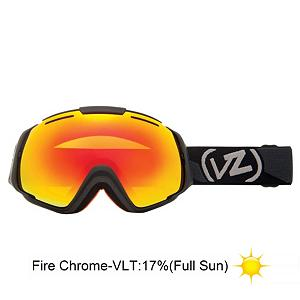 Snowboard Vonzipper El Kabong Goggles - New this year the El Kabong from VonZipper takes center stage. With the mythical and revolutionary frameless design and Presto Change-O lens lens system you get a quick change lens system and provides you with maximum peripheral vision. With the dual layered spherical anti-fog lens your vision will be crystal clear. Add in the triple density face foam with fleece lining you with have a moisture wicking comfortable seal on your face. The thermo-Poly Urethane frame is almost invincible and flexible to fit your face. These are helmet compatible too so you can rock them with your favorite bucket. Say abracadabra and pull a rabbit out of your hat with this magical on hill performer. Features: 100% UV Protection, Microfiber Goggle Bag Included. Race: No, Category: Adult, OTG: No, Comes w/ Case: No, Special Feature: No, Frame Size: Large, Spherical Lens: Yes, Polarized: No, Photochromatic: No, Rubberized Strap: Yes, Helmet Compatible: Yes, Frame Size: Large, Lens Shape: Spherical, Lens Type: Mirrored, Model Year: 2013, Product ID: 283624 - $89.88