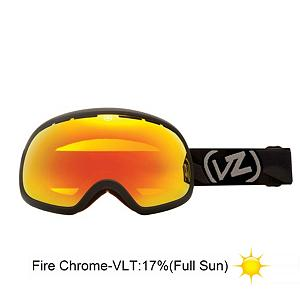 Snowboard Vonzipper Fishbowl Goggles - The Fishbowl from VonZipper is at the top of the goggle food chain. The Fishbowl features a thermo-polyurethane injection molded frame that remains flexible even in the coldest conditions. It also features a supersized dual spherical polycarbonate lens with Barricade anti-fog and hard coating and for optically correct, distortion free vision. The frame and lens on this goggle are huge providing you with maximum peripheral vision. Believe it or not even a goggle as big as the Fishbowl is helmet compatible, so you can look good and stay safe all at the same time. Add in a polar fleece lined, triple density face foam and you have a super comfortable and flexible goggle for any snow condition. Be the biggest fish in the pond with the Fishbowl from VonZipper. NOTICE Do to the large size of frame not all Helmets are compatible with the Fishbowl Features: Microfiber Goggle Bag Included, NOT ALL HELMETS ARE COMPATIBLE WITH THE FISHBOWL GOGGLE. Race: No, Category: Adult, OTG: No, Comes w/ Case: No, Special Feature: No, Frame Size: Large, Spherical Lens: Yes, Polarized: No, Photochromatic: No, Rubberized Strap: Yes, Helmet Compatible: Yes, Frame Size: Large, Lens Shape: Spherical, Lens Type: Mirrored, Model Year: 2013, Product ID: 283634 - $79.88