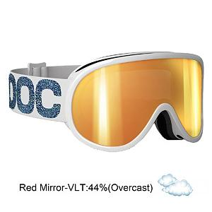 Snowboard POC Retina Julia Mancuso Signature Womens Goggles - The Retina Julia Mancuso Signature model is a goggle with a double lens designed for good ventilation and a wide angle of view to improve reaction time and over active safety. It comes with a high quality Polycarbonate lens with excellent anti-fog and anti-scratch treatment. The Retina will give you a classic look with high performance features. With this goggle you can look just like one of the fastest women in the world Julia Mancuso, even if you do not ski like her. . Race: No, OTG: No, Special Feature: No, Helmet Compatible: Yes, Goggle Ventilation: Medium, Goggle Lens Change: Moderate, Frame Size: Medium, Lens Shape: Flat, Lens Type: Mirrored, Model Year: 2014, Product ID: 284902, Model Number: 40084 302, GTIN: 7332522440662, Spare Lens Included: No, Rubberized Strap: Yes, Photochromatic: No, Polarized: No, Spherical Lens: No, Frame Size: Medium, Comes w/ Case: No, Category: Adult - $99.95