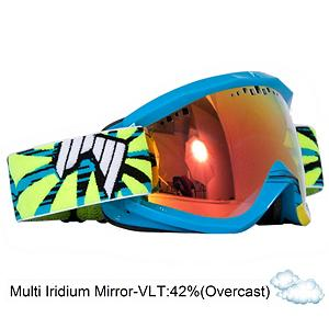 Snowboard SHRED Soaza Toric Goggles - The SHRED Soaza Toric Goggles gives you a cutting edge goggle that will keep your vision clear while out on the slopes. The TORIC lens is made of polycarbonate, perfectly tapered in thickness and cut to shape using a CNC process that allows for extreme optical precision. They have easy to change lenses that will give you optimal performance in different light conditions. The Soaza Toric Goggle gives you a wide lens and flexible frame to give you an uninhibited field of vision and optical precision. These goggles offer you 100 percent UV protection and will keep your goggles clear and your eyes protected from the sun's harmful UV rays. A hyperallergenic multi layer ultra Whipped Cream soft face foam will have the Soaza Toric leaves you feeling comfortable and secure when on your face. The lenses are anti-fog treated and scratch resistant so they will continue to look brand new no matter how long you own them. A silicone strap will grip the Icicles tight to your helmet for a secure and comfortable fit. . Frame Size: Fits Most Faces, Lens Shape: Spherical, Lens Type: Mirrored, Model Year: 2013, Product ID: 285660, Helmet Compatible: Yes, Rubberized Strap: Yes, Photochromatic: No, Polarized: No, Spherical Lens: Yes, Frame Size: Large, Special Feature: No, Comes w/ Case: No, OTG: No, Category: Adult, Race: No - $89.90