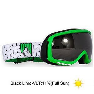 Snowboard SHRED Slab Goggles - The SHRED Slab Goggle will offer you a super comfortable fit and is loaded with tons of special features. Nodistortion lens are photochromic, which means it adjusts to the amount of sunlight. The Slab provides you with a large frame that will fit your face and has a multi layer Whipped Cream face foam that will have them feeling comfortable against your face. With 360 degree Field of Vision you will get an uninhibited field of view allowing you to see what's coming your way. An anti-fog lens coating will provide you with a thermal barrier that will keep the inner lens warm and dry and the special hydrofillic treatment on the inner lens allows the surface to absorb moisture before fog can form which will keep your vision clear in all conditions. Fitted with a Silicone strap the Slab Goggle will fit securely and comfortable to your helmet. With the SHRED Slab goggle is going to brighten your day one step at a time. . Race: No, Category: Adult, OTG: No, Comes w/ Case: No, Special Feature: No, Frame Size: Large, Spherical Lens: Yes, Polarized: No, Photochromatic: Yes, Rubberized Strap: Yes, Helmet Compatible: Yes, Frame Size: Large, Lens Shape: Spherical, Lens Type: Mirrored, Model Year: 2013, Product ID: 285662, Model Number: DGOSLAC22, GTIN: 8027087702940 - $99.88