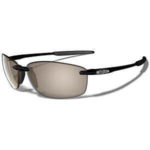 Snowboard Revo Overhang Polarized Sunglasses - The Overhang sunglasses from Revo feature lightweight nylon frames with Revo Polarcast Serilium lenses which will block the glare from water, snow and the road and will be able to tolerate high velocity impact to such objects like gravel. They also feature an anti-reflective coating which keeps fingerprints, sweat and any other debris from getting your lenses dirty. The motion fit technology allows you to comfortably wear these shades without it affecting any of the pressure points. Features: Revo Polarcast: Blocks glare from the water, snow and the road. Best Use: Fishing, Lens Material: Polycarbonate, Frame Material: Nylon, Polarized: No, Photochromatic: No, Interchangable Lens: No, Additional Lenses: No, Gender: Adult, Face Size: Medium, Nose Pads: Yes, Warranty: 2 Year, Lens Type: Polarized, Product ID: 232709, Frame Shape: Rectangle / Rimless - $159.00