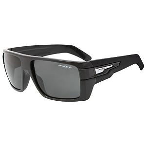 Snowboard Arnette Heavy Hitter Sunglasses - The Heavy Hitter sunglasses are the newest member to the Arnette family. They feature an oversized, chunky construction. They are made with the durable Grilamid frame material and feature polycarbonate lens which gives you comfort and protection from the sun's harmful UV rays. An Arnette logo has been injected onto the side temples. . Best Use: Streetwear, Lens Material: Polycarbonate, Frame Material: Grilamid, Polarized: No, Photochromatic: No, Interchangable Lens: No, Additional Lenses: No, Gender: Adult, Face Size: Large, Nose Pads: No, Warranty: 1 Year, Lens Type: Non-Mirrored, Product ID: 232719, Frame Shape: Rectangle / Wrap - $71.94
