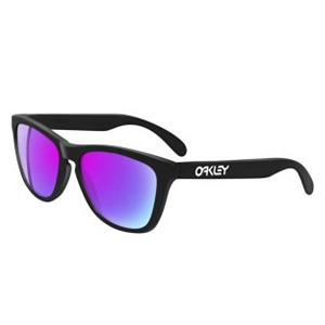 Snowboard Oakley Frogskins Sunglasses - Take it back to that special time in the 1980s when Reagan was in the White House and Ferris Bueller was enjoying his day off with the Oakley Frogskins Sunglasses. These one-of-a-kind sunglasses have been retooled and brought back for your style and enjoyment. . GTIN: 0700285551371, Model Number: 24-298, Frame Shape: Square, Product ID: 253623, Model Year: 2014, Lens Type: Non-Mirrored, Warranty: 1 Year, Nose Pads: No, Face Size: Medium, Gender: Adult, Additional Lenses: No, Interchangable Lens: No, Photochromatic: No, Polarized: No, Frame Material: O Matter, Lens Material: Polycarbonate, Best Use: Streetwear - $150.00