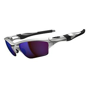 Snowboard Oakley Half Jacket 2.0 XL Polarized Sunglasses - If you want that high-performance, protecting and comfortable pair of sunglasses then look no further than the Oakley Half Jacket 2.0 XL Sunglasses. Created with lightweight O Matter frame, the Half Jacket is stress-resistant, durable and comfortable. Adding to the comfort is a Three-Point-Fit which holds the lens in precise optical alignment so you don't have lose your focus or concentration. Even when you're performing at your max and sweating it out, Unobtanium components ensure a solid grip so the sunglasses don't slip off. Coated with Plutonite materials, this will filter out 100% of harmful UV rays and blue light to keep your eyes protected from the harmful rays of the sun. With its polarized lens you'll have minimal glare getting in your way. Show your style and stay protected with the high-performance Oakley Half Jacket 2.0 XL Polarized Sunglasses. . Best Use: Multisport, Lens Material: Plutonite, Frame Material: O Matter, Polarized: Yes, Photochromatic: No, Interchangable Lens: No, Additional Lenses: No, Gender: Adult, Face Size: Medium, Nose Pads: Yes, Warranty: 1 Year, Lens Type: Polarized, Model Year: 2014, Product ID: 270408, Frame Shape: Rectangle / Wrap, Model Number: OO9154-06, GTIN: 0700285494234 - $180.00
