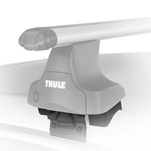 Snowboard The Traverse Fit kit is designed to work with the Thule Traverse Foot Pack. Includes 4 rubber-coated steel brackets and molded rubber pads to withstand a lifetime of use. Kits are made to fit around vehicles door jams without drilling or damaging the vehicle.  Visit www.thule.com and click Fit Guide, to find the right set for your vehicle,  Going together as easily as a seat belt, the clips and pads attach Traverse Feet to car roof,  Mount Type: Roof, Bar/Clamp: Clamp, Model Year: 2013, Product ID: 187677, Shipping Restriction: This item is not available for shipment outside of the United States., Model Number: KIT1051, GTIN: 7313020051796 - $69.98