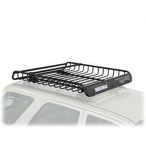 Snowboard Yakima MegaWarrior Cargo Box - A powerful weapon to carry in your arsenal of gear-hauling equipment, the Yakima MegaWarrior will hold just about anything you want to carry from A to B. Used best for larger vehicles like trucks, SUVs and Off-Roaders, this rooftop cargo basket is heavy-duty for the true outdoorsman. Whether they are bikes, luggage, spare tires, or skis all you have to do is attachment the MegaWarrior to you car rack system and you're all set. It will attach to round, square and most factory crossbars with ease. Designed with weather-resistant heavy-duty steel this carrying rack will last year after year, winter cold to summer heat. The custom wind fairing will reduce noise and the accessory bars act as crossbars for gear-specific racks. Haul it all with no worries when you use the Yakima MegaWarrior . Model Year: 2013, Product ID: 218571, Shipping Note 1: Commercial Addresses = $149. Residential Addresses = $149., Shipping Note 3: This item is available for shipment by freight to the lower 48 United States. It cannot be shipped to APO, FPO, PO BOX, Hawaii, or Alaska., Product Note: Coupons or other discounts cannot be applied to this item. This item may not qualify for Price Matching. - $341.10