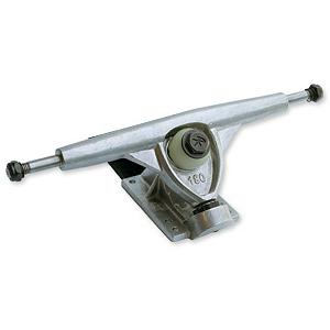 Snowboard Randal Trucks R-II 180mm/42 Single Skateboard Truck 2011 - Because everyone likes rides differently, you can customize your personal fit with this Randal Truck. It will work for giving you a loose feel or a tight feel. You will get a wide range of adjustability with the Randal 180mm, 42 degree trucks. The 180mm trucks are for carving tight, quick turns while maintaining a stable geometry and the base plates and hangars are interchangeable with the Randal system. Please Note: This listing is for an individual truck and not a pair. Features: Virgin grade aluminum, Lightweight hanger design, Grade 8 king pin, Lifetime guarantee. Model Year: 2012, Product ID: 201882 - $29.99