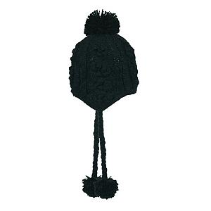 Snowboard Turtle Fur Aran Hand Knit Womens Hat - Turtle Fur makes great hand knit hats made of 100% acrylic and fully lined in Micro Fleece. This Aran Hand Kit hat is both cute and warm. The ear flaps will keep you warm while maintaining a popular style. The pom pons on this Turtle Fur knit hat also add a dash of fun. Wear the Aran hat any wear and admire the detail in the knitting and braiding of this cool Turtle Fur. . Warranty: One Year, Battery Heated: No, Material: Acrylic, Lined: Yes, Type: Earflap, Model Year: 2013, Product ID: 174965, Model Number: 425955 102, GTIN: 0729998177104 - $29.91