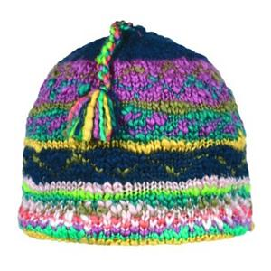 Snowboard Turtle Fur Mayadevi Ski Hat - Lots of color combinations are used to make up the Mayadevi hat by Turtle Fur. This hat for women takes an old school look and puts a new school twist into the mix. The Mayadevi hat is created with 53% acrylic and 47% wool in order to provide you ladies with a soft and comfortable hat. It is also lined with micro fleece to create a greater amount of warmth for your head. This hat can be worn as a ski hat or just as your favorite winter accessory. . Warranty: One Year, Battery Heated: No, Material: Wool/Synthetic Blend, Lined: Yes, Type: Beanie, Model Year: 2013, Product ID: 201247, Model Number: 425655 170, GTIN: 0729998176862 - $32.00