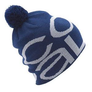Snowboard Coal Logo Ski Hat - The Logo Ski Hat by Coal shows that you never substitute warmth and comfort for style. This oversized pom pom beanie with jacquard branding is this year's true cozy choice. . Warranty: Other, Battery Heated: No, Material: Synthetic, Lined: No, Type: Pom, Model Year: 2012, Product ID: 247101 - $14.95