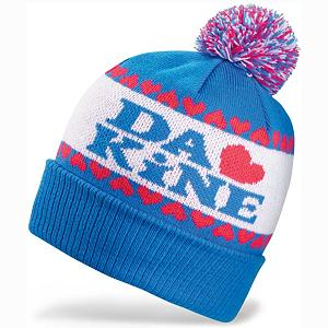 Snowboard Dakine Lovely Womens Hat - The Dakine Lovely Beanie Hat is a soft stylish and warm hat all in one. With a fashionable frosting of a pom pom on top and stylish stitching, this is more than just your basic beanie hat. Look cool and stay warm brought to you by a company that has a proven reputation on winter outdoor gear. . Warranty: One Year, Battery Heated: No, Material: Synthetic, Lined: Yes, Type: Pom, Model Year: 2013, Product ID: 285059 - $14.91