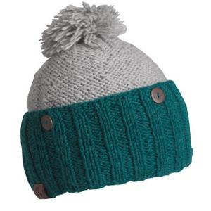 Snowboard Turtle Fur Isette Womens Hat - The Isette hat by Turtle Fur gives your winter look a little bit of funky fun. This two-tone hat has more than just looks too. It is fully lined with fleece and the outer is made from hand knit wool. Not only is it fabulous, but its warm too. Perfect from any occasion from going out on the town to going to the mailbox. . Warranty: One Year, Battery Heated: No, Material: Wool, Lined: Yes, Type: Pom, Model Year: 2013, Product ID: 285748 - $25.00