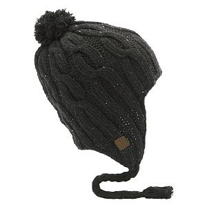 Snowboard Coal Highland Flap Hat - The Coal Highland Flap Hat is cool way to keep warm this winter. Wear this traditional chunky hand-knit hat when you want total protection of the head, ears and side-of-the-face and look hip while doing so. The Nordic-inspired earflap beanie is a perfect statement about your personality. . Bearing Grade: Performance, Warranty: Other, Battery Heated: No, Material: Wool, Lined: No, Type: Earflap, Model Year: 2012, Product ID: 289816, Model Number: 1120504 BLK - $27.99
