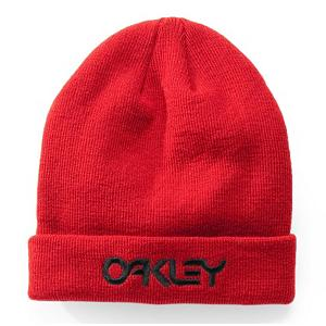 Snowboard Oakley Retro Flip Beanie Hat - Keep your dome warm and stylish this winter with the Oakley Retro Flip Beanie. This beanie is made with the warm acrylic material. You can wear this hat one of two ways, leave it down and view the Oakley logo, or flip the front upward to reveal Oakley wordmark. The classic fit and embroidered logos on the Oakley Retro Flip Beanie makes this beanie stylish that will have people taking a second glance in your direction. . Warranty: One Year, Battery Heated: No, Material: Synthetic, Lined: No, Type: Beanie, Model Year: 2013, Product ID: 291752 - $22.00
