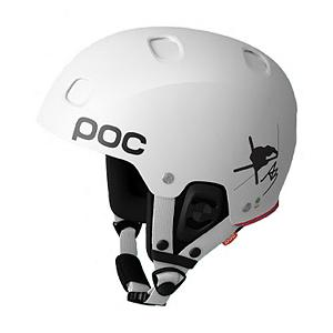 Snowboard POC Receptor Bug Anders Backe Edition Helmet 2014 - The POC Receptor Bug Anders Backe Ski Helmet is named for the professional who seeks out the very best in pro freestyle skiing: Anders Backe. His style is reflected in the helmet that brands his name. Designed with a double overlapping shell which will keep your head safe in a fall is also equipped to let air in and heat out so that sweat doesn't have time to collect but instead will leave the helmet ensuring you stay dry. On those frigid days you'll have the advantage of closing the ventilation system to keep your head warm. Detachable ear pads give added warmth on a cold day and by removing them will offer relief on a warmer spring ski day. POC would never compromise safety for comfort which is why they outfitted this helmet with an in-mold liner in polycarbonate and EPS. Lightweight and even designed to protect against sharp objects the POC Receptor Bug Anders Backe gives you the same peace of mind that it offers the professionals who design and wear them. . Certifications: EN 1077 - Class B, ASTM F 2040, Warranty: One Year, Gender: Mens, Special Features: EPS/Polycarbonate Liner, Special Features: Double Shell, Bearing Grade: Performance, Race: No, Category: Half Shell, Audio: Audio Compatible, Brim/Visor: No, Ventilation: Adjustable, Custom Fit Adjustment: No, Year Round Capable: No, Shell Construction: In Mold/Hard Shell, Model Year: 2014, Product ID: 195460, Model Number: 10290 01 M, GTIN: 7332522090614 - $119.93