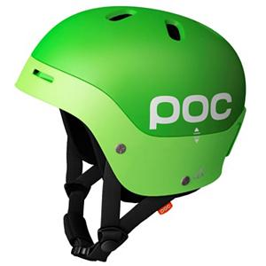 Snowboard POC Frontal Helmet - Classy and colorful! The Frontal Ski Helmet by POC is a great piece of equipment that you won't want to hit the slopes without. It not only brings you an abundance of protection, it also gives you a clean and fun look with its bright color scheme. The Frontal Ski helmet is a free ride helmet with lots of ventilation. Incorporated into this helmet are three different ventilation systems in a hybrid of hard shell and in a mold helmet. The front of this POC helmet for adults is a double shell solution where air is transported between two layers of shell. This helps to avoid direct wind and to withstand penetration from sharp objects. The back of the helmet offers ventilation holes for the helmet to function as a chimney, where air is pulled from the front to the rear. There are also six ventilation holes that can be adjusted from the outside. This is a helmet that is constructed with your comfort in mind. As a result of all of the ventilation, your head will maintain a comfortable temperature. The more comfortable you are, the better your ride will be. The Frontal Ski helmet is also very durable so it can withstand several seasons of action. . Certifications: CE EN 1077, ATSM F 2040, Warranty: One Year, Gender: Mens, Special Features: Hard Rim Halo, Race: No, Category: Half Shell, Audio: Not Compatible, Brim/Visor: No, Ventilation: Fixed, Custom Fit Adjustment: No, Year Round Capable: No, Shell Construction: In Mold/Hard Shell, Model Year: 2012, Product ID: 195487 - $69.88