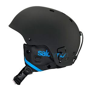 Snowboard Salomon Brigade Helmet - The Salomon Brigade is a perfect helmet for the park crowd who want to look different. The ear pads are removable so you can have your new school look. The Beanie Convertible Liner will allow you to wear a beanie under your helmet without compromising your safety while you still look steezy. You can impress the girls on the slopes and not make them run away in the bar after skiing because you used the removable/washable liner, and your hair doesn't reek. Available in a variety of colors to mismatch with any outfit the Salomon Brigade the helmet to have for the serious park skier where fashion is just as important as the tricks you can pull. . Certifications: CE-EN1077/ASTM F-2040, Warranty: One Year, Special Features: Beanie Convertible Liner, Race: No, Model Year: 2013, Product ID: 235347, Shell Construction: Hard Shell, Year Round Capable: No, Custom Fit Adjustment: No, Ventilation: None, Brim/Visor: No, Audio: Not Compatible, Category: Half Shell, Special Features: Removable/Washable Liner, Gender: Mens - $49.88