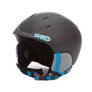 Snowboard SHRED Toupee The Schwarz Helmet - Keep your dome protected year round with the SHRED Toupee The Schwartz Helmet. The Schwartz is made with a high quality in-molded construction and features Shred's new SHREDVent system. This system uses a system of helmet vents to pull warm air out of the goggles and exhaust it out of the helmet to prevent fogging which will keep your vision clear. You can get a custom fit adjustment with the SHREDWheel that makes it easy to dial in a custom fit, even with your gloves on. This is an ergo-friendly wheel that is at the base of the helmet to provide you with up to 6cm of adjustment and enhanced stability to ensure you get the proper fit and a comfortable fit. There are soft ear pads in the Schwartz as well as the SHREDry lining which a breathable, temperature controlling, anti-odor and anti-static inner lining that will keep you dry, comfortable and warm in the winter and cool in the summer. That's right the Toupee helmet can be worn year round. Don't fret the Toupee is CE EN and ASTM certified to ensure you have the highest safety standards. . Certifications: CE EN1077 and ASTM F2040, Warranty: One Year, Gender: Mens, Special Features: Interchangeable Shred Goggle Bucket, Race: No, Category: Half Shell, Audio: Not Compatible, Brim/Visor: No, Ventilation: Fixed, Custom Fit Adjustment: Yes, Year Round Capable: Yes, Shell Construction: In Mold, Model Year: 2013, Product ID: 255714 - $69.91