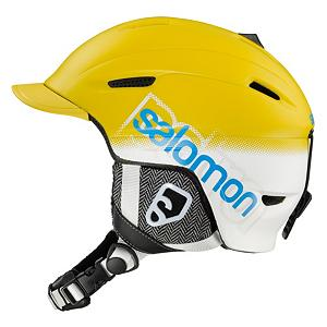Snowboard Salomon Patrol Helmet - It can be tough finding protection for your dome that looks good and has a lot of bells and whistles. Search no further thanks to the Salomon Patrol Helmet. A removable visor adds a certain element of steeze to the helmet. The Salomon Active Ventilation system is easy to use to keep your temperature right with adjustable vents on the top of the helmet. The liner is removable and washable so you won't be stinking after a day of hiking in the backcountry. A convertible beanie liner in the helmet can be used with or without the helmet without compromising your safety. A great helmet that will fit a round shape head best, the Salomon Patrol Helmet is a must have. . GTIN: 0080694826476, Model Number: 325953 57-58, Product ID: 277093, Model Year: 2013, Shell Construction: In Mold, Year Round Capable: Yes, Adjustability: None, Ventilation: Adjustable, Brim/Visor: Yes, Audio: Not Compatible, Category: Half Shell, Race: No, Special Features: Removable Visor, Gender: Mens, Warranty: Two Years, Certifications: CE EN1077 and ASTM F2040 - $49.89